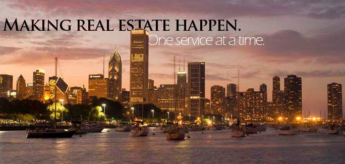 Making real estate happen. One service at a time.